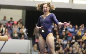 Gymnast extraordinaire – Katelyn Ohashi (UCLA) rocks with Michael Jackson's song