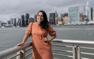 Meet Penny Abeywardena, a Sri Lankan leading New York City