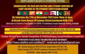 South Asian Film, Arts & Literature Festival 2021
